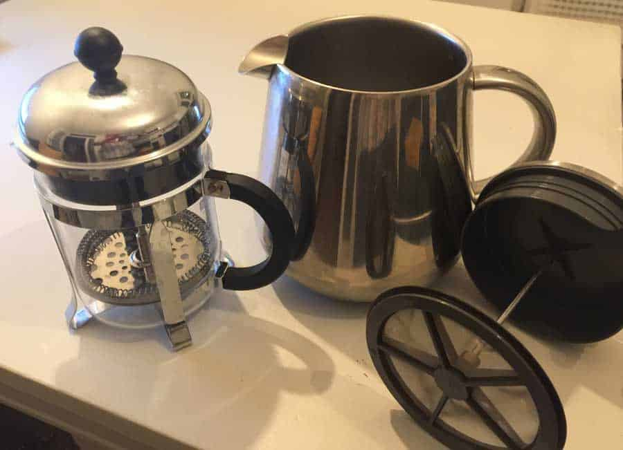 A few of my french presses.