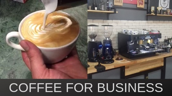 Baristas and businesses, cafes and commercial operations. Something for everyone.