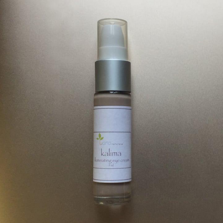 Luana Naturals Kalima Illuminating Eye Cream with 100% Kona Coffee available at LuanaNaturals.com