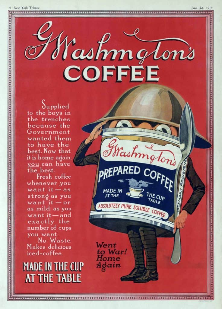 G. Washington advertisement