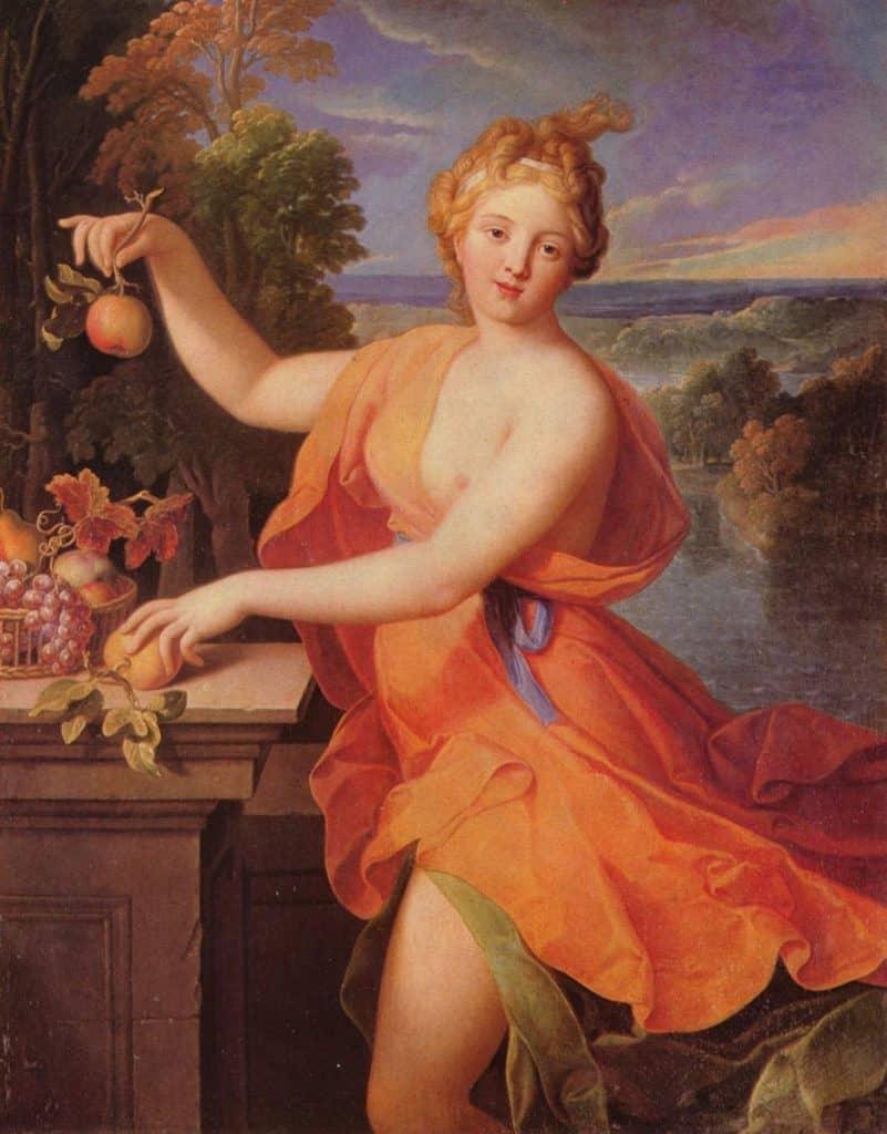 Pamona by Nicolas Fouché, 1700