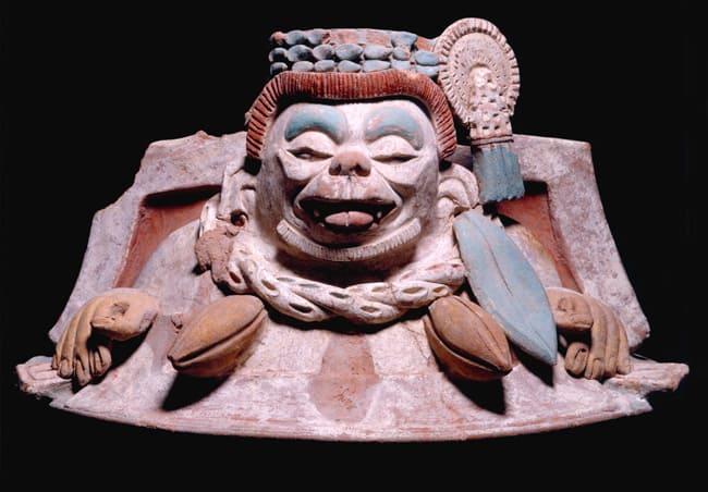 terra cotta representation of Ek Chuah