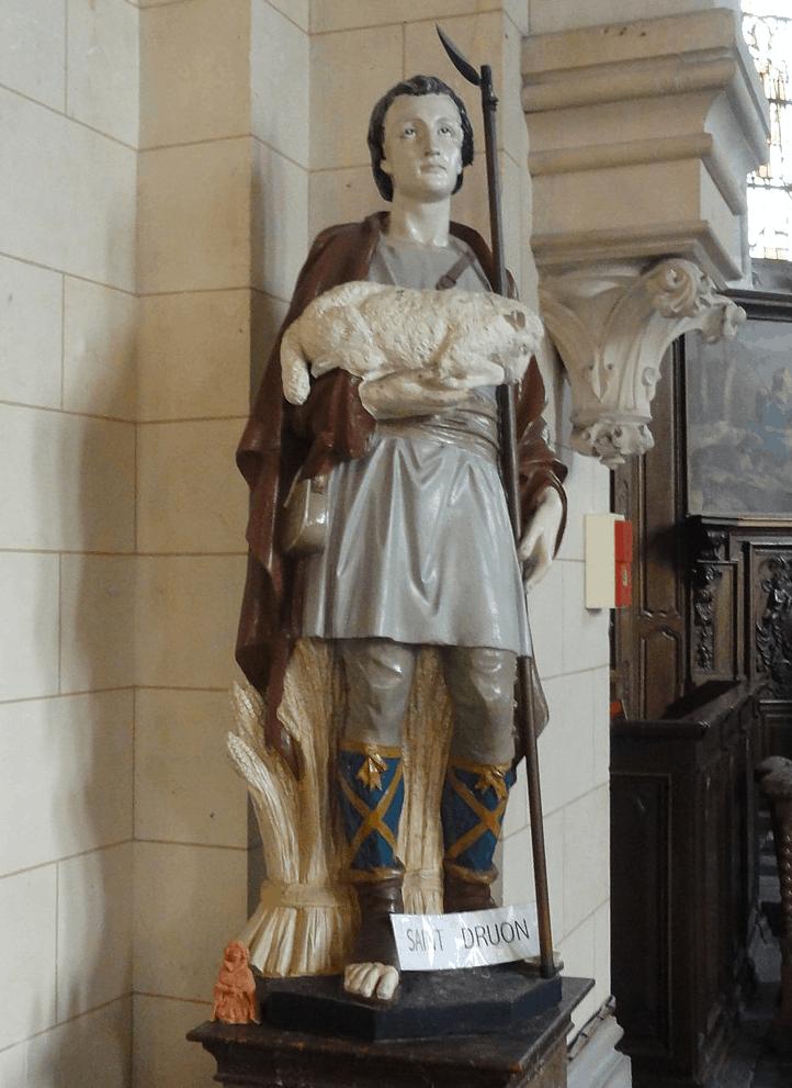 Saint Drogo Statue