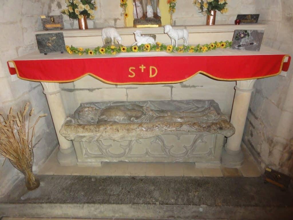 Relics of Saint Drogo