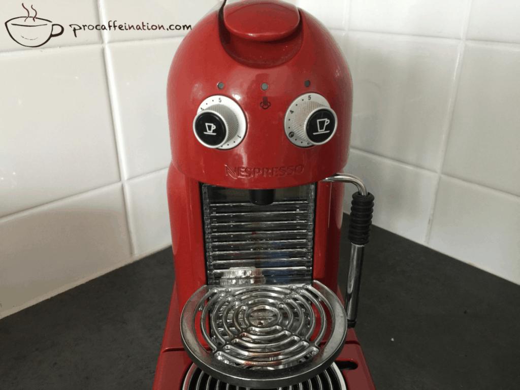 Dirty Krupps Nespresso machine